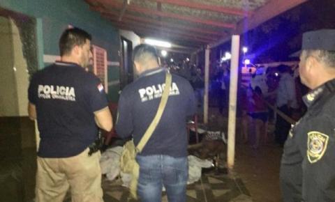 Chacina deixa seis mortos e criança ferida em cidade da fronteira