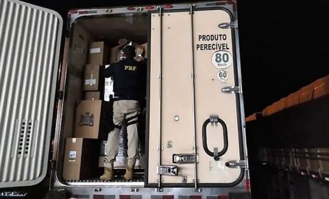 Polícia apreende 600 mil maços de cigarros contrabandeados no interior de MS