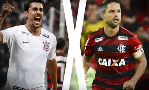 Corinthians visita Flamengo pelo duelo de volta das oitavas de final da Copa do Brasil
