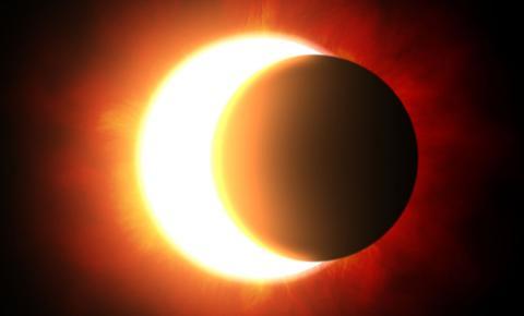 Eclipse solar será visto parcialmente em MS à tarde, segundo meteorologia