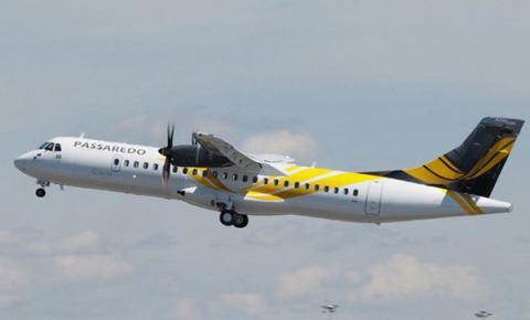 Passaredo iniciará voos entre Congonhas e Dourados em outubro