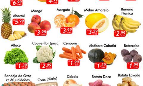 Confira as ofertas da Quarta Verde e do Dia das Crianças do Mercado Julifran de Fátima do Sul