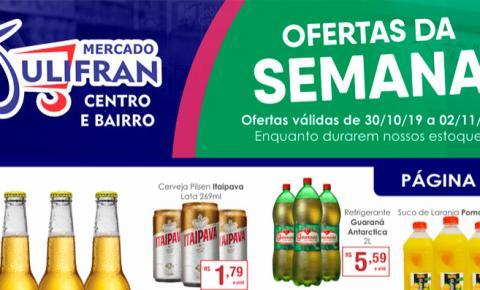 INFORME PUBLICITÁRIO: Confira as ofertas da semana e da Quarta Verde do Mercado Julifran