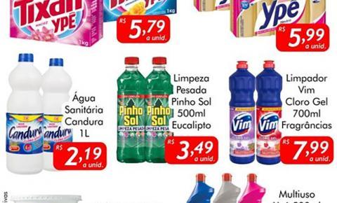 Segunda da Limpeza é no Mercado Julifran em Fátima do Sul