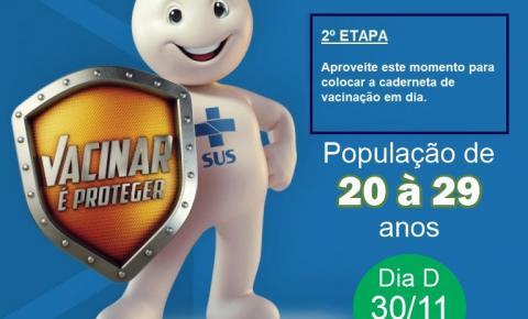 Sábado será especial para vacinação contra o sarampo em Fátima do Sul