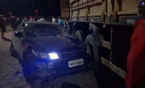 Traficante dirigia carro a 160 km por hora, quando atropelou mãe e matou filhos em Casa Verde, distrito de Nova Andradina