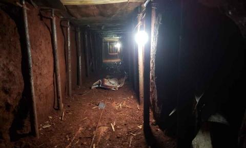 Quadrilha que escavou túnel para roubar banco pretendia passar fim de ano em casa
