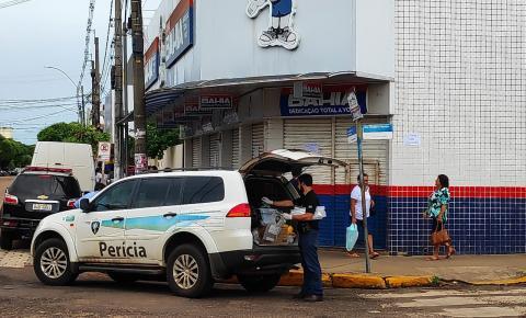 Ladrões arrombam cofre e levam dinheiro de loja das Casas Bahia em Aquidauana