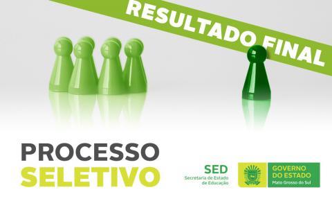 SED publica resultado final do processo seletivo para professores temporários em MS