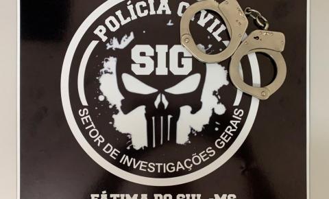 Vigilante noturno condenado a 18 anos por estupro em São Paulo é preso por policiais civis do SIG em Fátima do Sul