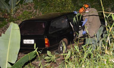 Morador em Culturama perde controle de veículo e cai em ribanceira na MS-376 em Fátima do Sul