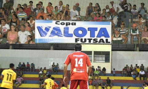 Começa hoje em Fátima do Sul a 19ª edição da Copa Valota/SEMECT de Futsal