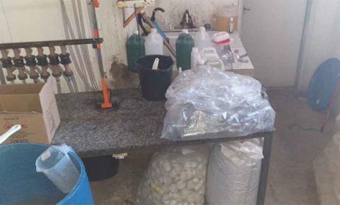 Empresário é preso em Campo Grande por fabricar álcool em gel clandestino, com combustível que saiu de Fátima do Sul