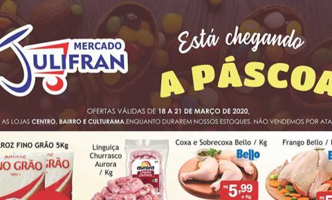 INFORME PUBLICITÁRIO: Confira as ofertas da semana e da Quinta Filé do Mercado Julifran de Fátima do Sul