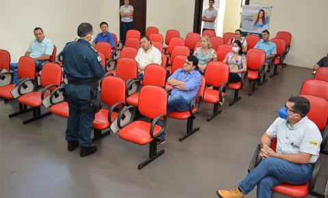 Reunião na ACIFAS amplia discussão de combate ao Covid-19 em Jateí, Vicentina e Fátima do Sul