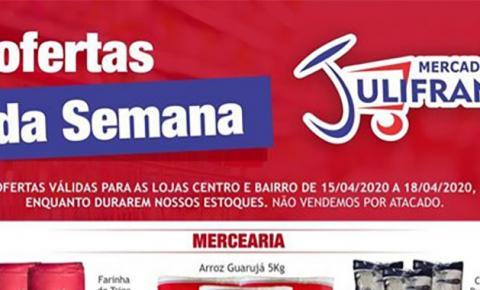 INFORME PUBLICITÁRIO: Aproveite as ofertas da Semana do Mercado Julifran de Fátima do Sul