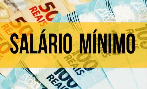 Governo propõe salário mínimo a R$ 1.079 em 2021