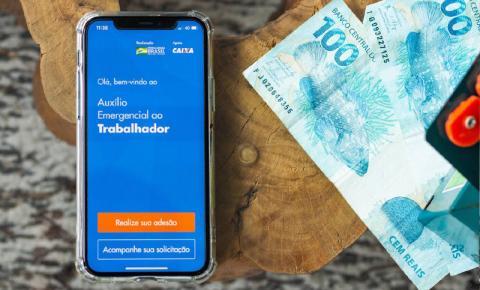 Caixa paga nesta segunda auxílio emergencial a 6,15 milhões de beneficiários do Bolsa Família e inscritos via app e site