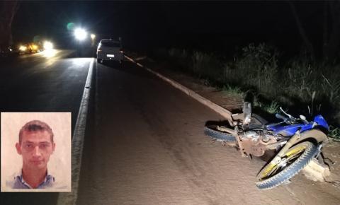 Jovem de moto morre após ser atingido por carro na BR-376, entre Dourados e Fátima do Sul