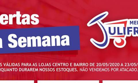 INFORME PUBLICITÁRIO: Aproveite as Ofertas da Semana e da Quarta Verde do Mercado Julifran de Fátima do Sul