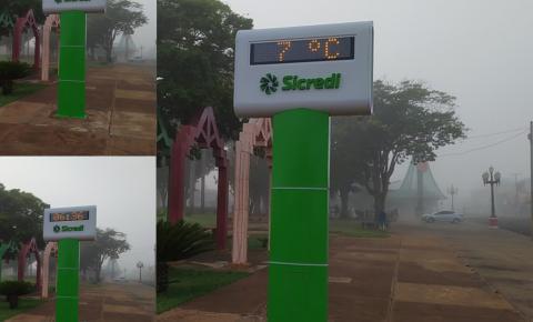 Frio intenso se mantém neste início de semana no Fátima do Sul