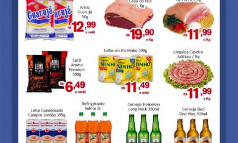 Confira as ofertas do Sabadão da Economia, do Mercado Julifraan em Fátima do Sul