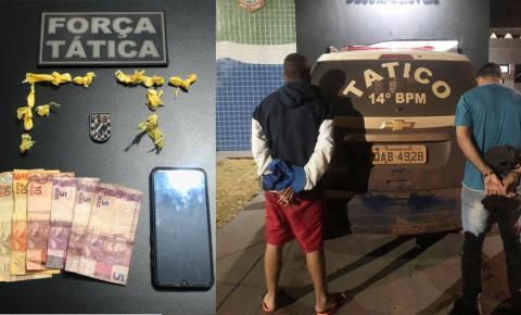 Força Tática prende vulgo 'Di Menor' por tráfico de drogas em Deodápolis