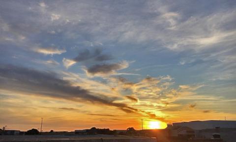 Quinta de céu nublado e baixas temperaturas em MS