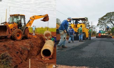 Com obras de pavimentação e infraestrutura urbana, Fátima do Sul comemora 57 anos. ASSISTA AO VÍDEO
