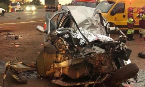 Motorista que invadiu pista e matou casal na BR-163 será indiciado por homicídio culposo