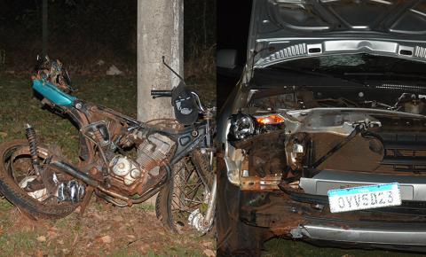 Motociclista morre em acidente na MS-376 entre Vicentina e Fátima do Sul