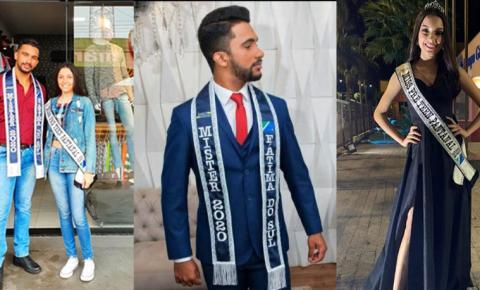 Mister Fátima do Sul 2020 e Miss Pré Teen Pantanal 2020 desenvolvem ações sociais em Fátima do Sul