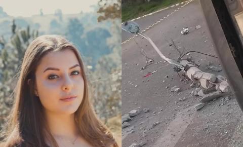 Jovem de 20 anos, sem CNH, morre ao bater em poste e capotar carro com amigos