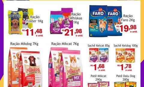 Confira as ofertas da Terça Animal do Mercado Julifran de Fátima do Sul
