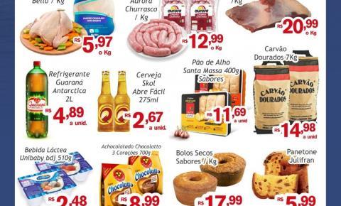 Confira as ofertas do Sabadão da Economia, do Mercado Julifran em Fátima do Sul