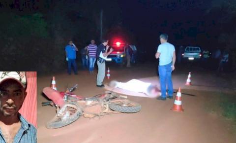 Homem morre ao bater moto de frente com caminhonete da patroa em Deodápolis
