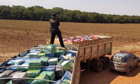 Mato Grosso do Sul é o Estado que mais apreende drogas no Brasil