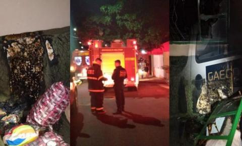 Marido coloca fogo em casa e mata idosa de 80 anos queimada em Campo Grande