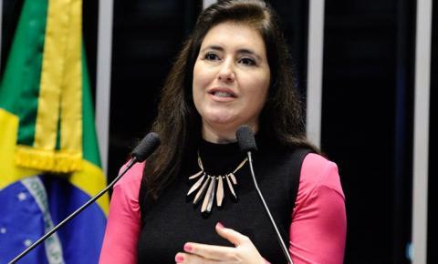 Senadora Simone Tebet disputará a presidência do Senado