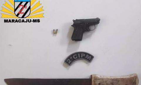 Homem é preso acusado por estupro de criança de 11 anos e posse ilegal de arma em Maracaju
