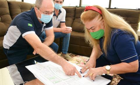 Prefeita recebe visita de empresários de Santa Catarina que irão investir na cidade de Fátima do Sul