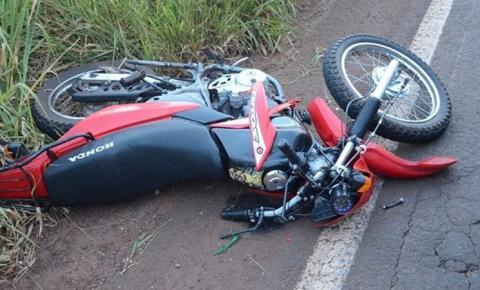 Motociclista morre em acidente após colidir em veado na MS-382 próximo a Bonito