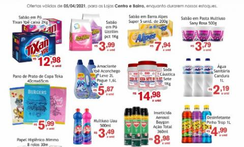 Segunda da Limpeza é no Mercado Julifran de Fátima do Sul