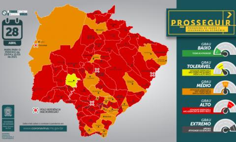 Fátima do Sul, Vicentina, Glória de Dourados e outras cidades devem seguir toque de recolher das 21h às 5h