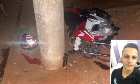Jovem que sofreu acidente de moto em Ivinhema morre na cidade de Dourados
