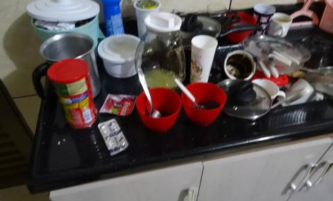 Mulher planeja crime, faz carta de despedida e coloca veneno de rato na comida da filha de 6 anos em Ivinhema