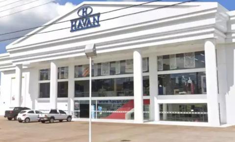 Loja da Havan é interditada em Dourados por descumprir decreto de lockdown