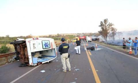 Ambulâncias de Nova Alvorada do Sul empilham acidentes e geram medo em funcionários