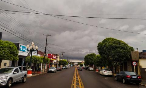 Final de semana será marcado por chuvas isoladas e volta do frio a Mato Grosso do Sul