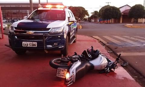 Motociclista morre após ser atingido por veículo que fez conversão proibida na Marcelino Pires em Dourados